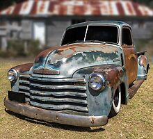 Well Worn Chevy by Keith Hawley