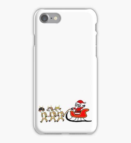 mrerri crizmiss from te ninten sinty fev! iPhone Case/Skin