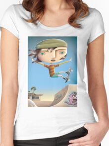 Skaterboy Women's Fitted Scoop T-Shirt