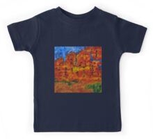 032 Abstract Landscape Kids Tee