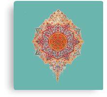 Hippie flower charm Canvas Print