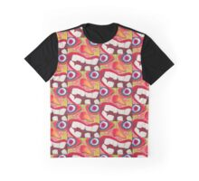 Crazed Lunatic  Graphic T-Shirt