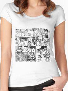 kishibe rohan Women's Fitted Scoop T-Shirt