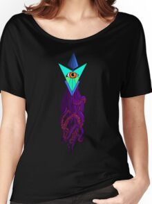 Eyeball Octo Women's Relaxed Fit T-Shirt
