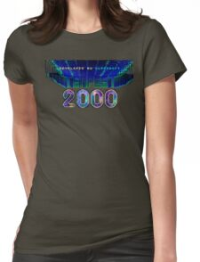 Tempest 2000 (Jaguar Title Screen) Womens Fitted T-Shirt