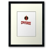 Borderlands - Crimson Lance Framed Print