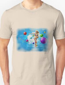 Girl in bikini dancing T-Shirt