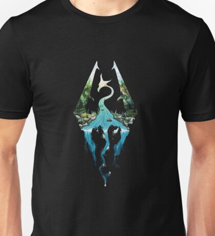 Elder Scrolls Skyrim Unisex T-Shirt
