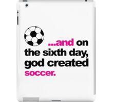 Sixth Day - Soccer iPad Case/Skin