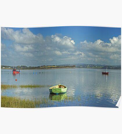 High Tide At Sunderland Point Poster