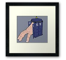 Hermit TARDIS Framed Print