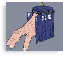Hermit TARDIS Canvas Print