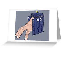 Hermit TARDIS Greeting Card