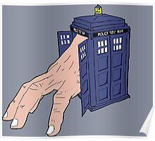Hermit TARDIS Poster