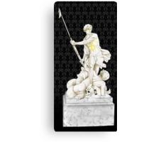 Sherlock+John - Statue of heavenliness Canvas Print