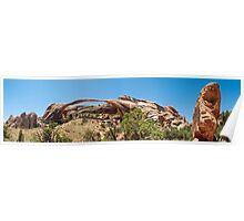Landscape Arch - Arches National Park, Utah Poster
