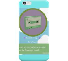Cassette tape from Beautiful Katamari iPhone Case/Skin