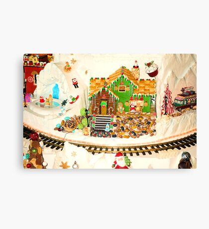 Gingerbread House Study 5  Canvas Print