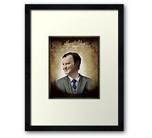 Mycroft Holmes Framed Print