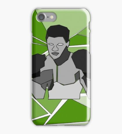 Muhammad Ali - Isometric iPhone Case/Skin