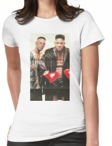 Will & Jazz - Fresh Prince of Bel-Air Womens Fitted T-Shirt