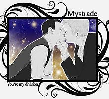 Mystrade - You're my division! by Clarice82