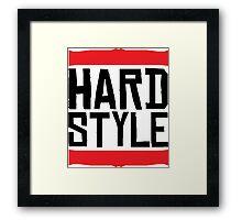 Hardstyle Raw Framed Print