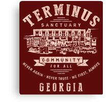 Terminus Sanctuary Community (light) Canvas Print