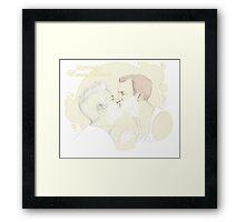 Mystrade - Foamy Smooch Framed Print