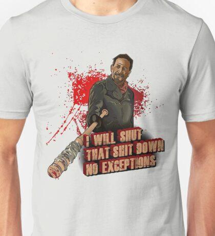 Negan Walking Dead Unisex T-Shirt