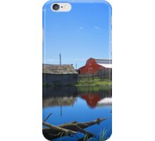 Farm Buildings and Pond. iPhone Case/Skin