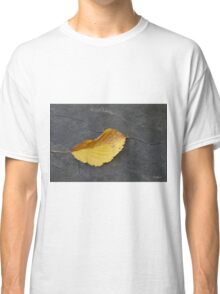 First Leaf of Fall Classic T-Shirt