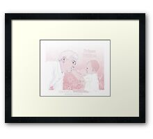Mystrade Parent AU - Prince William Framed Print