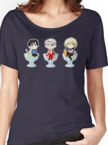 Yuri on Ice Cream Women's Relaxed Fit T-Shirt