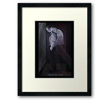 Mystrade - Remember when it rained Framed Print