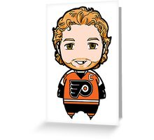 Claude Giroux Greeting Card