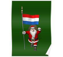 Santa Claus Visiting The Netherlands Poster