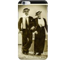 Me & my Buddy -1925 iPhone Case/Skin