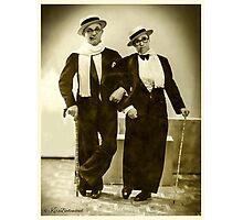 Me & my Buddy -1925 Photographic Print