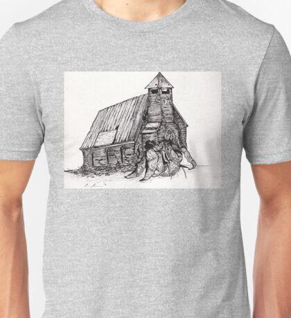 Hermit crab church Unisex T-Shirt