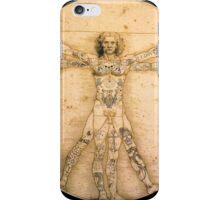 Vitruvian Tats iPhone Case/Skin