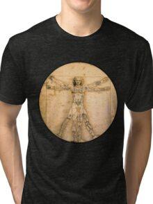 Vitruvian Tats Tri-blend T-Shirt