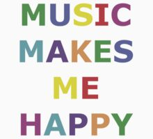 Music makes me happy by SamanthaMirosch