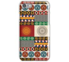 Seamless mayan, aztec pattern iPhone Case/Skin