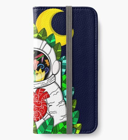 Nature of space iPhone Wallet