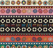 Tribal  pattern.  by Richard Laschon