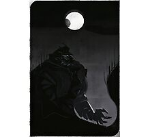 Tarot Card - Sain Lucius Photographic Print