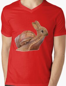 Snabbit Mens V-Neck T-Shirt