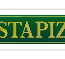 Gusta Pizza Sticker
