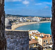 Peñiscola from the fortress by jotagphoto